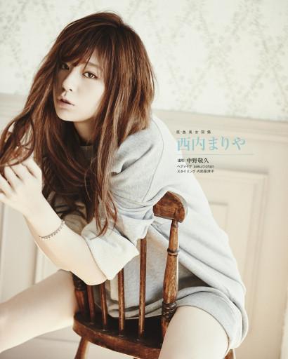 週刊文春 FEB 2016 MARIYA NISHIUCHI 001